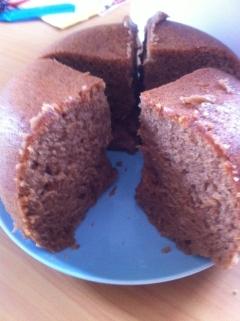 炊飯器でカンタン☆HMで作るチョコケーキ