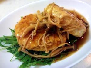 ★簡単おもてなし料理★ヘルシー豆腐ハンバーグ
