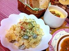 安納芋のしょうゆ糀マヨ味摩訶ロニサラダ