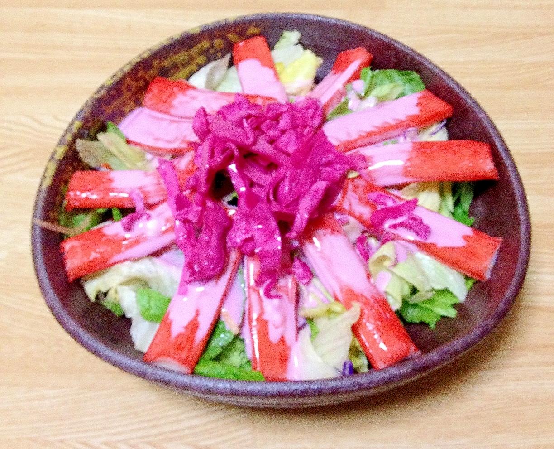 かんたん!紫キャベツの酢漬けでサラダ&ドレッシング