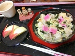 正月食材リメイク!アボカド&生麩&お餅のヘルシー丼
