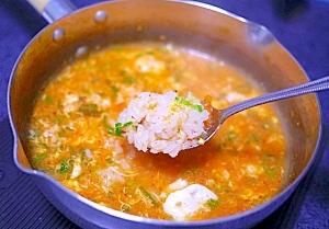 独身専用! 鍋一つで作る、超簡単なキムチ鍋と雑炊