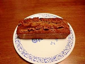 紅茶とクルミのパウンドケーキ