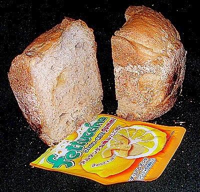 ちょっとスッパイ レモン食パン