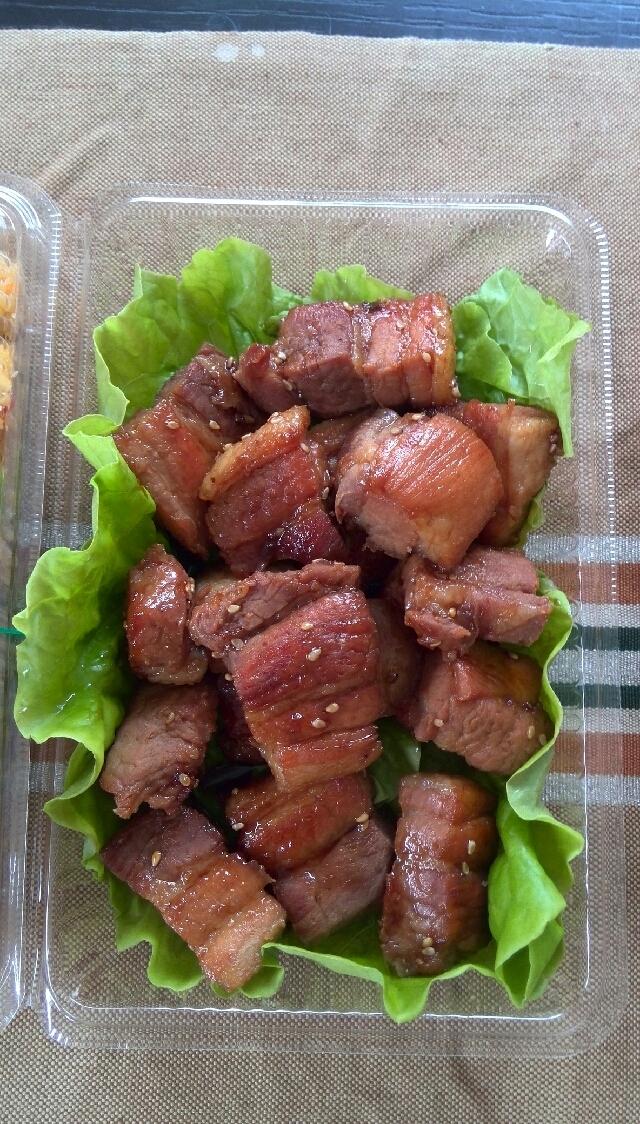 持ち寄り人気メニュー 豚の角煮