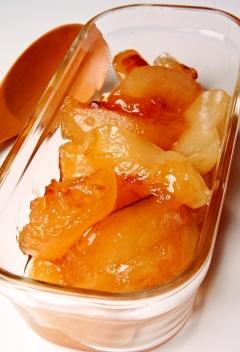 コトコト煮るだけ♪はちみつりんごのコンポート
