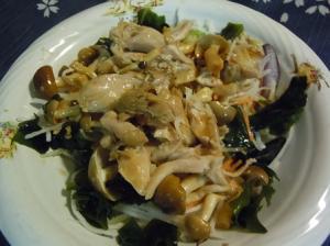 ダイエット中でもガッツリ食べよう鳥サラダ