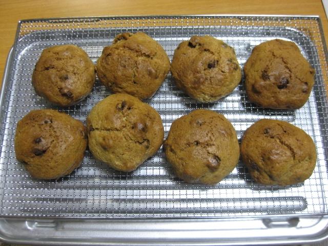 麦チョコ入りスコーン風焼き菓子