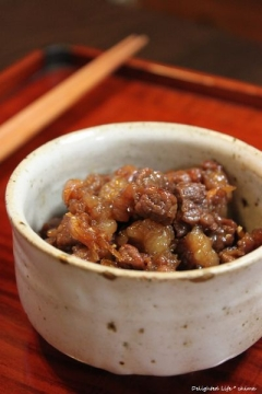 牛肉の大和煮