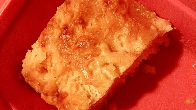 さくらんぼの白ワイン漬けケーキ