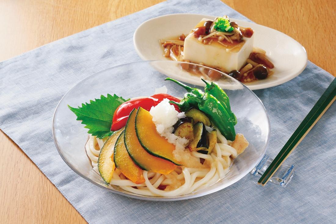楽天マート☆野菜たっぷり!夏のいろどり麺