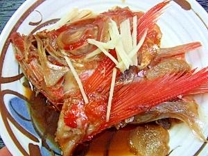 旬♪金目鯛の煮付け
