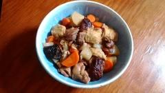 ★大根と油揚げの煮物 鶏と干し椎茸のお出汁で!★