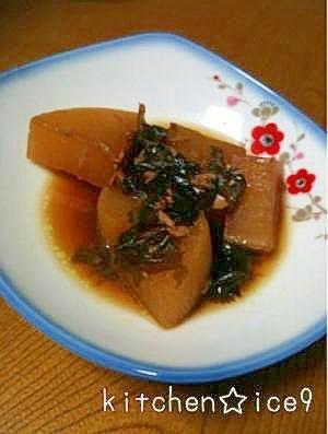 割下で☆大根ツナワカメの煮物 レシピ・作り方