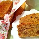 HMでイチジクと栗と胡桃のほうじ茶パウンドケーキ