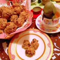 胡桃とフルーツの蜂蜜漬いりカントリー紅茶クッキー