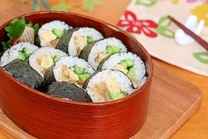 ガッツリ寿司なら…コレ豚と玉ねぎのこってり巻き