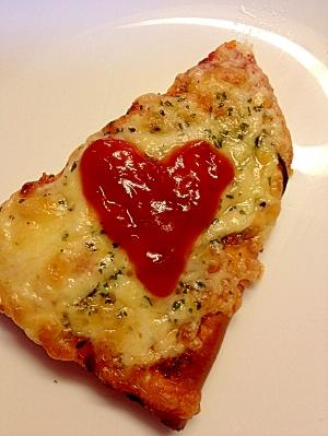 お惣菜ピザをもっと美味しぃ~く♪