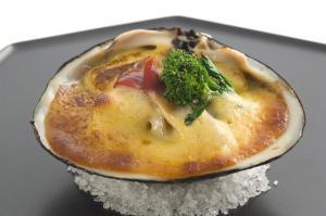 ホッキ貝のゆず胡椒マヨネーズ焼き