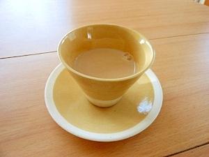 冷え性さんに!ぽかぽかしょうが紅茶 豆乳バージョン