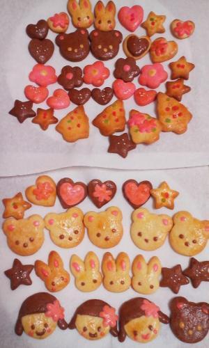 こどもの日、遠足に♪かわいい型抜きクッキー