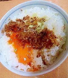 休日朝ごはん卵かけごはん☆