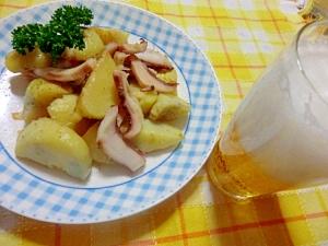 ビールに最高 ドイツ風 たことジャガイモの炒め物