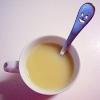 ジャスミン茶のミルクティー