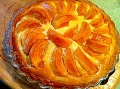 まるごと柿のベイクドチーズタルト