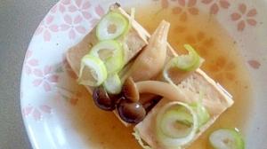 ヘルシー 豆腐としめじのすきやき風味