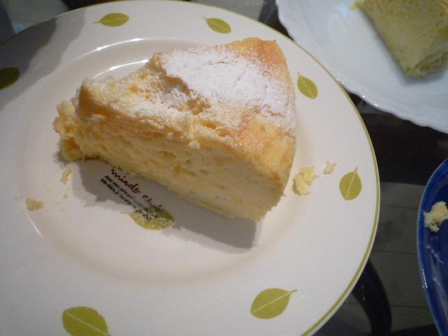 絶品☆簡単 チェダーチーズケーキ