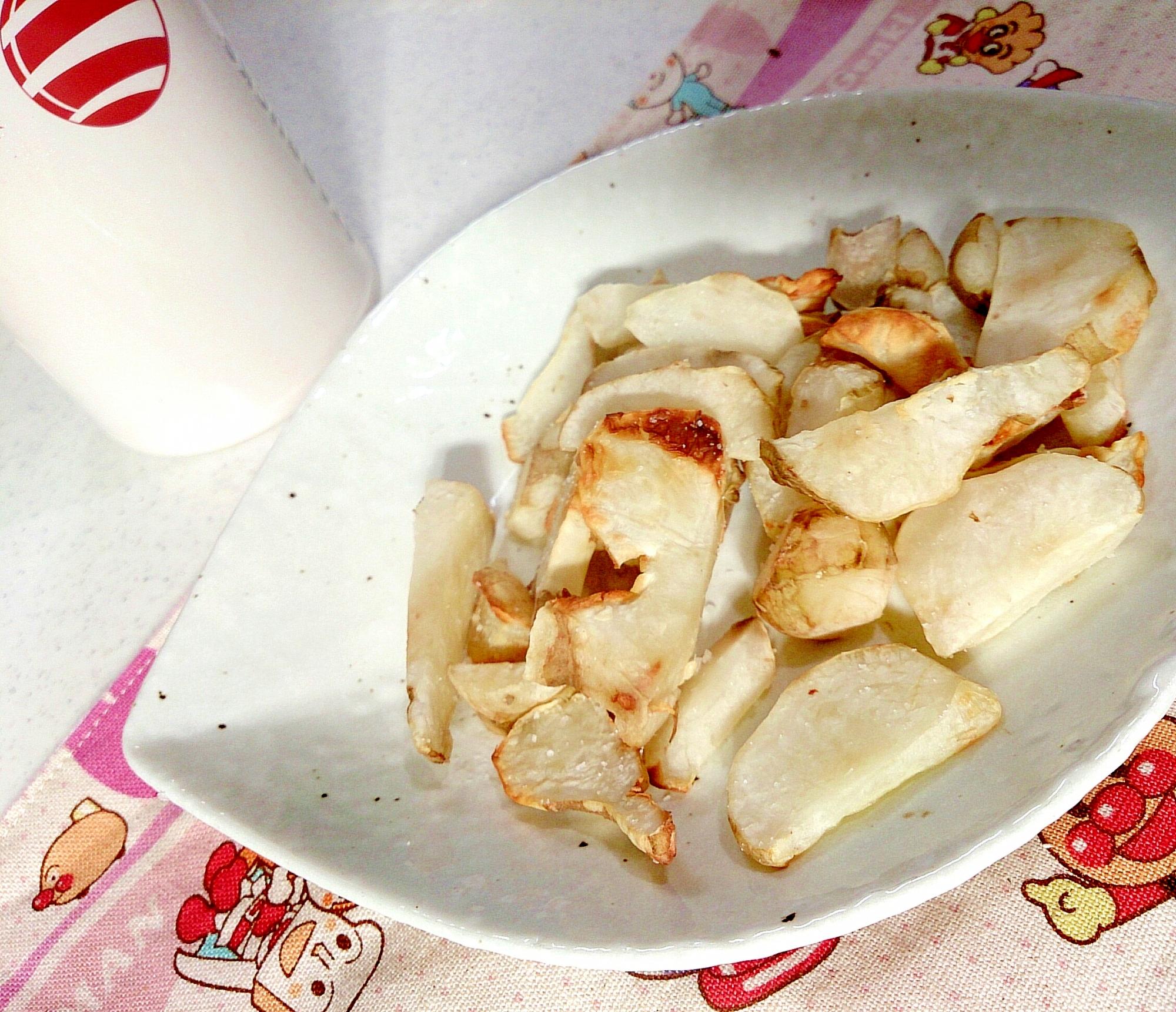 【糖質制限】菊芋でなんちゃってフライドポテト
