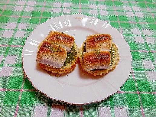 マシュマロ&抹茶練乳☆スコーン