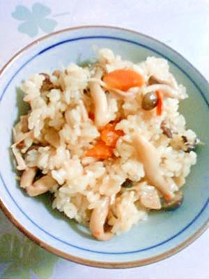 ☆炊き込みご飯☆もち米入れてモチモチ美味しい♪