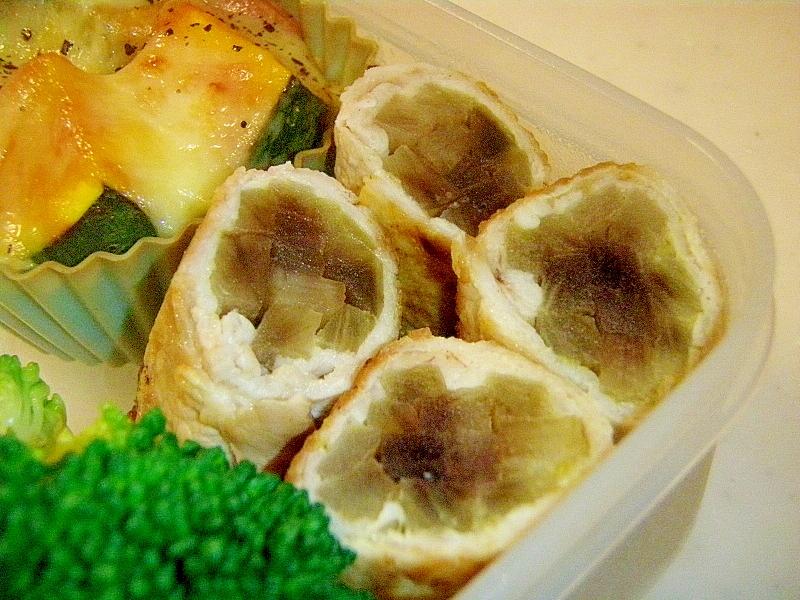お弁当に!ヤーコンの肉巻き・柚子胡椒風味