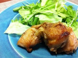 新生姜で鶏のしょうが焼