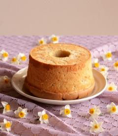 とろけるバナナシフォンケーキ