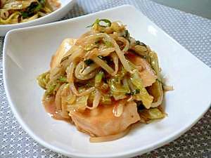 めかじきと野菜の蒸し煮