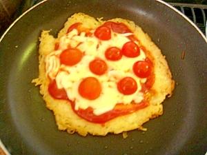 そうめん消費!子供大好き!そうめんピザ