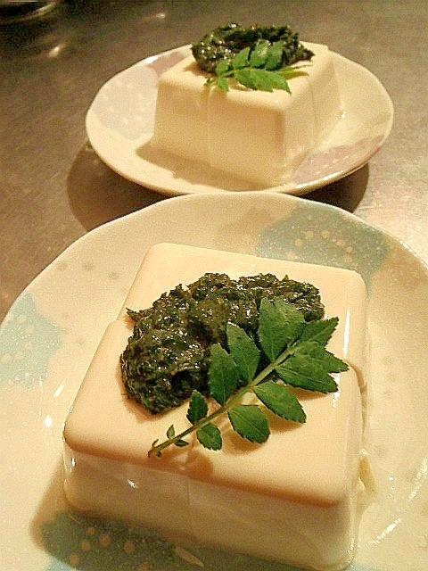 旬を食べよう☆山椒の葉deすっきり爽やか山椒味噌