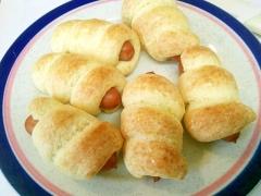 超簡単★HMでウインナーパン★お惣菜パン・発酵なし
