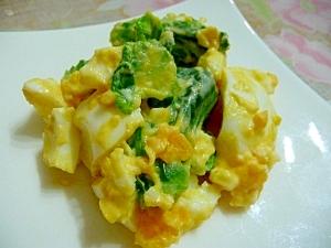 芽キャベツと卵のサラダ