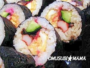 基本の巻き寿司
