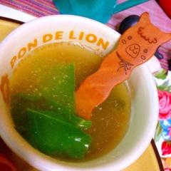 簡単!オカワカメの海老塩スープ