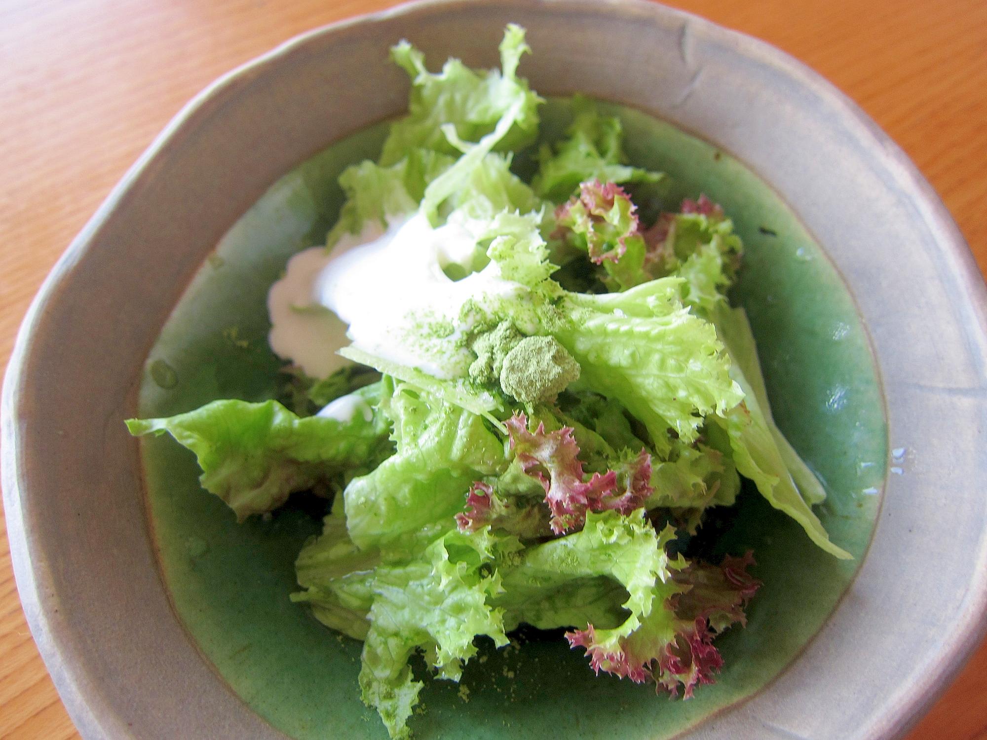 レタスアロエパウダーサラダ