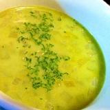 ほうれん草パウダーで栄養upの塩麹ミルクスープ
