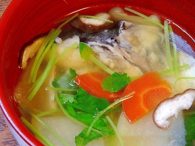 二度旨い♪ 「サワラ船場汁&リメイク豆腐汁」