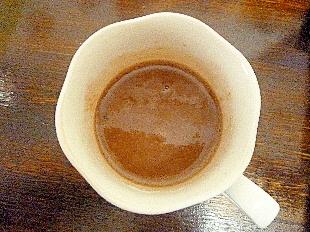白玉粉でつぶつぶトロトロミルクココア葛湯
