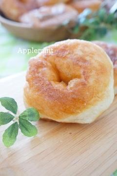 カルピスソフトでふわふわドーナツパン