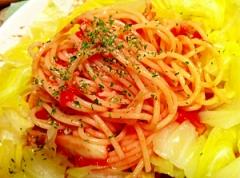 レンチン&茹でるだけで春キャベツの塩麹トマトパスタ